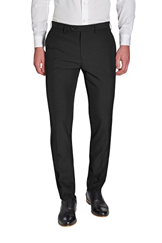 next Homme Pantalon sans pinces Noir 32 / Long - Skinny Fit
