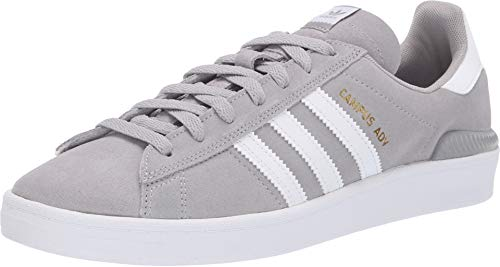 adidas Skateboarding Men's Campus ADV MGH Solid Grey/White/White 13 D US D (M)