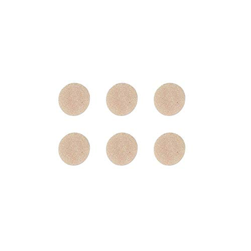 Epi-Derm Epi-Tabs - .75 in - (6) (Natural Circles) Silicone Scar Sheets from Biodermis ()