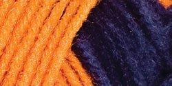 Bulk Buy: Red Heart Team Spirit Yarn  Orange/Navy E797-960