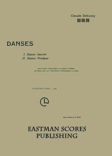 (Debussy, Claude : Danses pour harpe chromatique ou harpe a pedales, ou piano avec acct. d'orchestre d'instruments a)