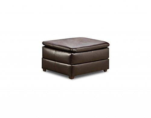 Simmons Upholstery 6159-09 Vintage Riverside Bonded Leather Ottoman