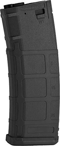 - Evike S&T 350rd Polymer Flash Magazine for M4 A&K Masada Series Airsoft AEG (Color: Black)
