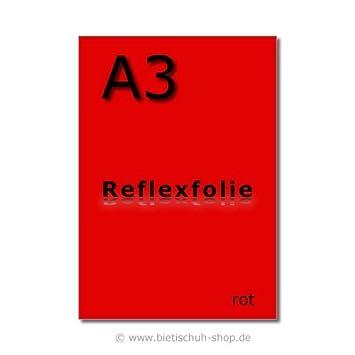 Orafol Reflexfolie A3 reflektierend selbstklebend braun