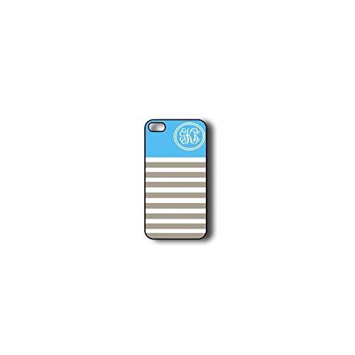 Krezy Case Monogram iPhone 4s Case, Colorful stripes Pattern Monogram iPhone 4s Case, Monogram iPhone 4s Case,...