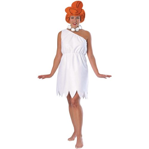 Wilma Flintstone Adult Costume - (Best Cheap Halloween Costume Ideas)