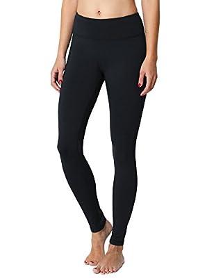 Baleaf Women's Fleece Lined Leggings Yoga Pants Inner Pocket
