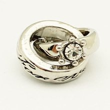 Engagement Bead Dangle Ring (Wedding Engagement Rings Bead European Charm Fits Pandora Bracelets)