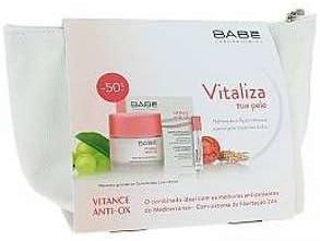 PACK BABE VITANCE ANTI-OX: CREMA HIDRATANTE REVITALIZADORA 50 ML + CONCENTRADO LUMI-PERFECT (2 ML X 5UDS): Amazon.es: Salud y cuidado personal