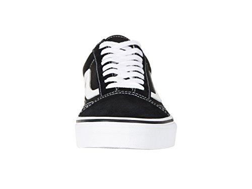 Zapatillas blanco Unisex Vans Old U Adulto Negro Skool xwx0tIg8