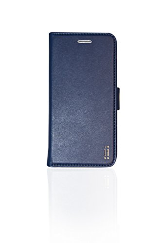 Aiino AIIPH6SCV-BCBL Booklet Wallet Eco-Leder B-Hülle für Apple iPhone 6/6s blau