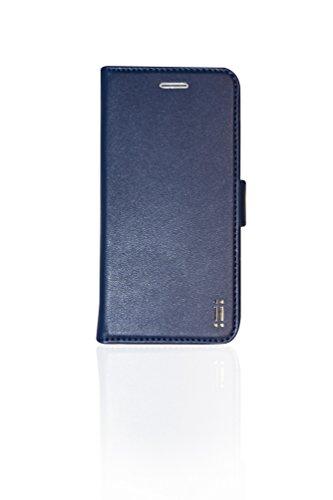 Aiino AIIPH6SCV-BCBL Booklet Wallet Eco-Leder B-Hülle für Apple iPhone 6/6s blau