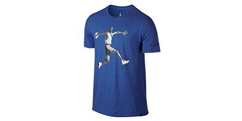 Nike Herren AJ 5 TEE 864923 480royal