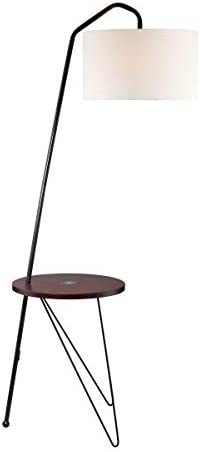 Lite Source Rutherford Black Floor Lamp