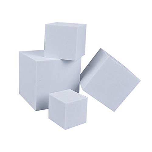 EVA Foam Block White Square Cubes For Craft Cosplay Projects - Cube Eva