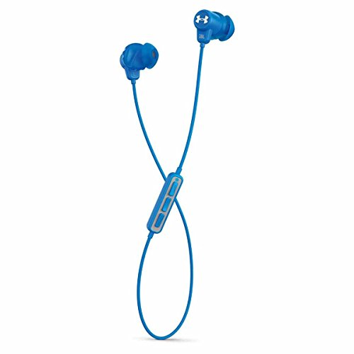 JBL Under Armour Wireless Headphones with Three-Button Remote and Microphone (Blue)