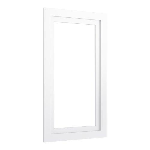 (KOHLER K-99661-15-1WA Jacquard Medicine Cabinet Surround, 15-Inch, Linen White)