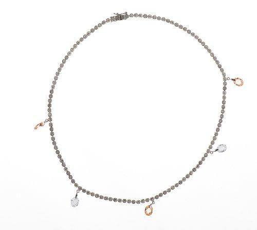 Collier Femme - NKS-K30278 - Argent 925/1000 20.3 Gr - Oxyde de zirconium