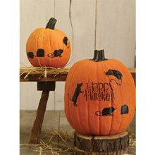 Martha Stewart Halloween Pumpkins (Martha Stewart Crafts Happy Halloween Mice Pumpkin)