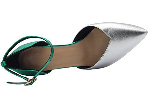 Aszdxc Boots Women's Boots Calaier Calaier Green Aszdxc Women's v7ExxanY