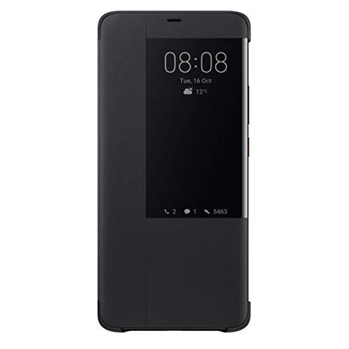 Huawei 純正 Mate 20 Pro Smart View Flip Cover 両面カバー 液晶窓付き Black【日本正規代理店品】 MATE20 PRO SMART VIE