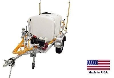 Streamline Industrial SPRAYER Commercial - Trailer Mounted - 12 Ft Boom - 200 Gal - 9.5 GPM 580 PSI