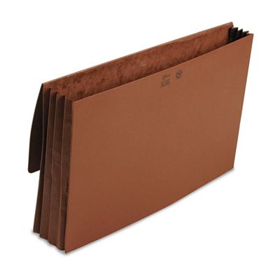 3 1/2 Inch Accordion Expansion Wallet, Redrope, 14 3/4 x 9 1/2, Redrope, Total 50 EA, Sold as 1 Carton