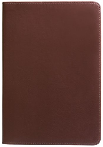 Eccolo World Traveler Simple Lined Journal, 6 x 8-Inch, Brown