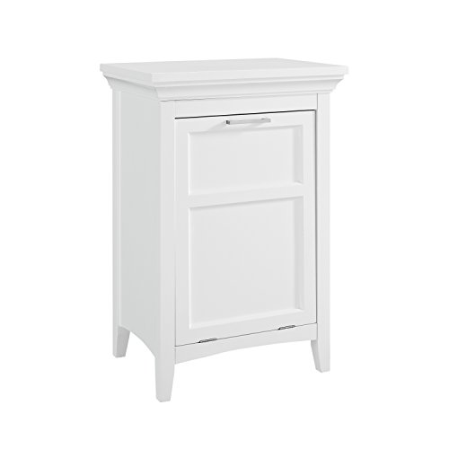 Simpli Home Avington Laundry Hamper, White by Simpli Home