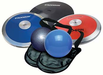 (Stackhouse High School Boy's Throws Value Pack: Discus and Shot Put)