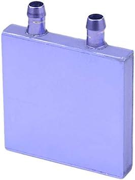 2P BXQINLENX Aluminum Water Cooling Block for CPU Graphics Radiator Heatsink 40x 40mm