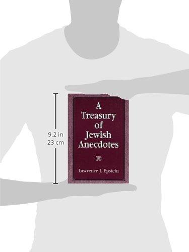 A Treasury of Jewish Anecdotes by Brand: Jason Aronson, Inc.
