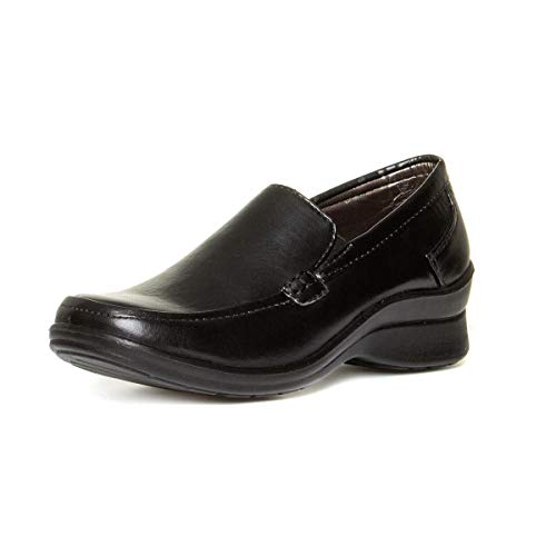 Lilley Womens Black Casual Slip On Shoe
