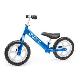 Cruzee Ultralite Balance Bike (4.4 lbs) for Ages 1.5 to 5 Years | Blue - Best Sport Push Bicycle for 2, 3, 4 Year Old Boys & Girls- Toddlers & Kids Skip Tricycles on The Lightest First Bike