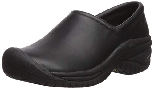 KEEN Utility Women's PTC Slip On II Work Shoe,Black,5.5 M US PTC-U350