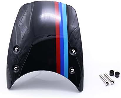 Silver LJBusRoll for 2014-2017 BMW R Nine T RNineT R9T 2015 2016 Motorcycle Accessories ABS Windshield Windscreen Headlight Fairing Deflector R 9T