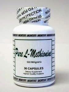 Montiff - Pure L-Méthionine 500 mg 30 caps