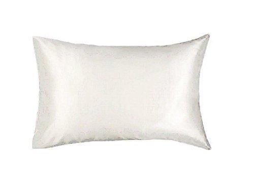 Pure Silk Pillowcase / Pillowcover Queen Size, Natural White