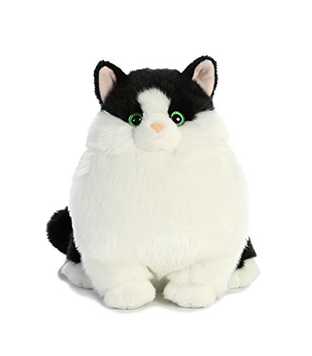 Aurora World Fat Cats Muffins Tuxedo Plush -