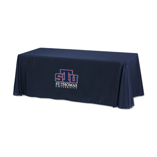 St. Thomas Navy 6 foot Table Throw 'Official Logo' by CollegeFanGear