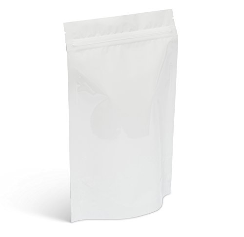 - Pacific Bag 425-311WZ Stand-Up Pouch, 8 oz, White Metallized (Pack of 500)