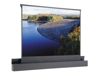 Ascender Electrol Matte White Electric Projection Screen Viewing Area: 159