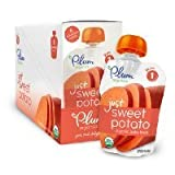 Plum Organics Baby Just Veggies, Sweet Potato, 3 Ounce (Pack of 12) have a problem Contact 24 hour service Thank You