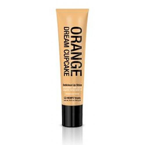 Supre Hempz Treats Orange Dream Cupcake Lip Shine .5oz