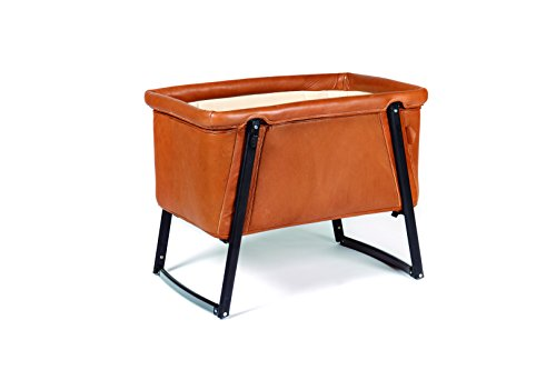 BabyHome Dream Leather Premium Bassinet- Orange