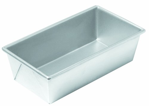 Chicago Metallic Commercial II Traditional Uncoated 1-Pound Loaf Pan (Pan 1 Loaf Pound Commercial)