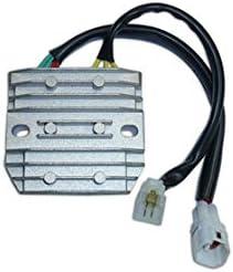 K6 K7 K8 GSX 650 1250 F VZ 800 SV 650 1000 VLOR 1500 Boulevard DL 650 V-Strom LT-A 750 King Quad DZE R/égulateur r/égulateur Compatible avec Suzuki GSXR 600 750 1000 2006-2014