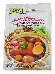 Lobo Pha-lo Thai Seasoning Mix Thai Style Five-spice Blend Net Wt. 65 G.