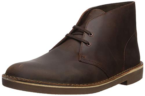 Clarks Men's Bushacre 2 Chukka Boot,Dark Brown,7.5 M US ()