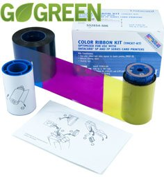 Impact Full Color Printers - Datacard YMCKT-KT Full-Color Ribbon Kit for SP55, SP75 print